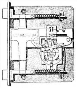 Combined Bramah Chubb Lock